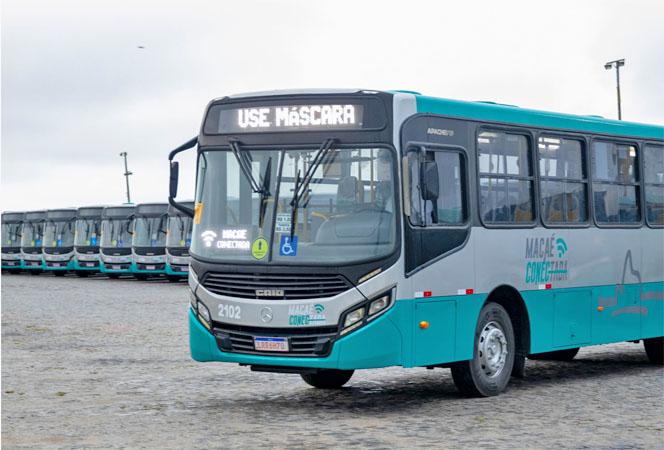 RJ: Macaé anuncia aumento no reforço na frota de ônibus municipais - revistadoonibus
