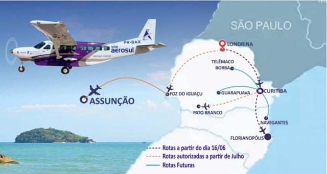 Viação Garcia pode perder passageiros na Curitiba x Londrina para cia aérea - revistadoonibus