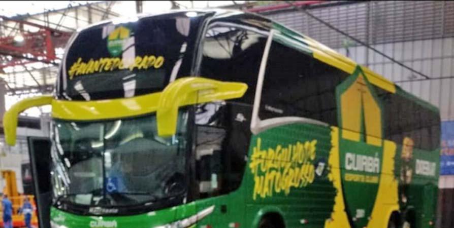 MT: Cuiabá Esporte Clube terá novo ônibus rodoviário nos próximos dias