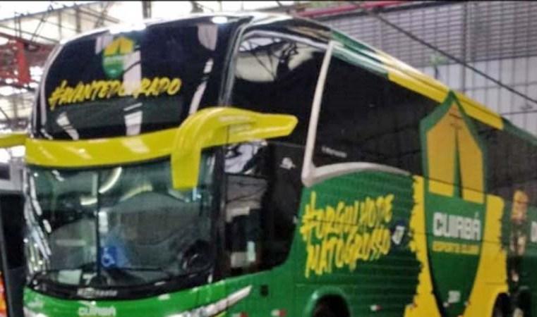 MT: Cuiabá Esporte Clube terá novo ônibus rodoviário nos próximos dias - revistadoonibus