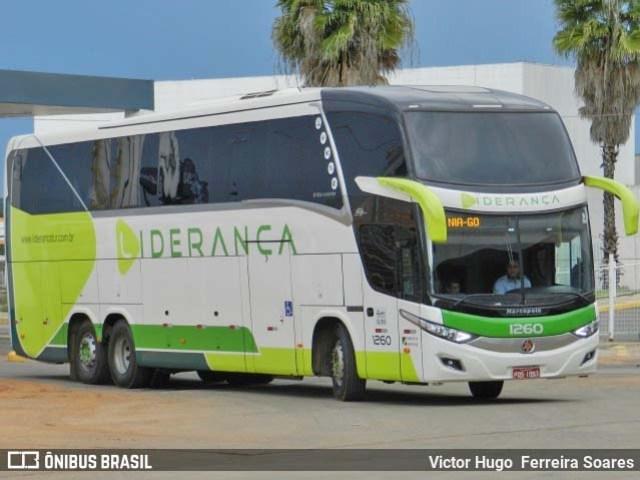 TO: Ônibus da Liderança Turismo tomba na TO-070 em Aliança do Tocantins - revistadoonibus