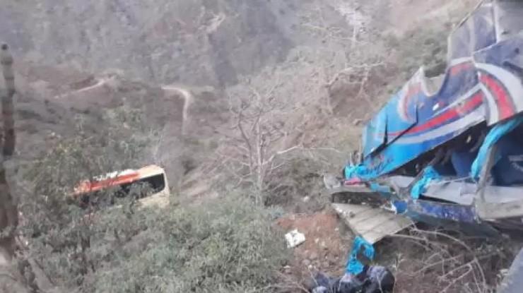 Peru: Ônibus despenca de ribanceira na região do Balcón del Diablo e deixa 17 mortos - revistadoonibus