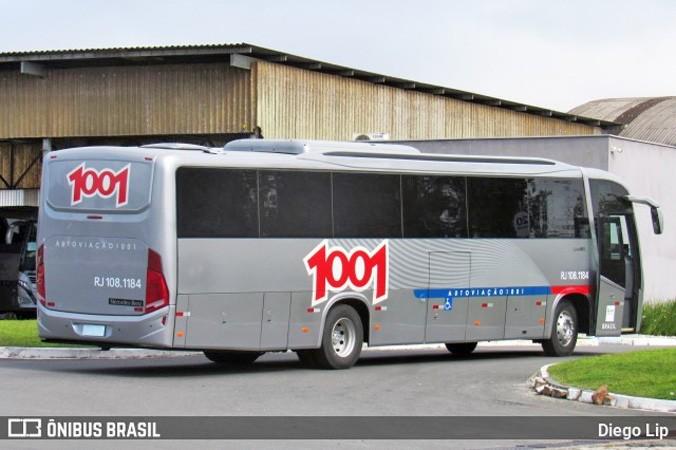 Busscar anuncia a entrega de mais ônibus El Buss 320L para Auto Viação 1001
