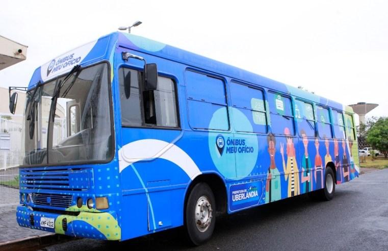 MG: Uberlândia inicia inscrições para cursos no Ônibus Meu Ofício