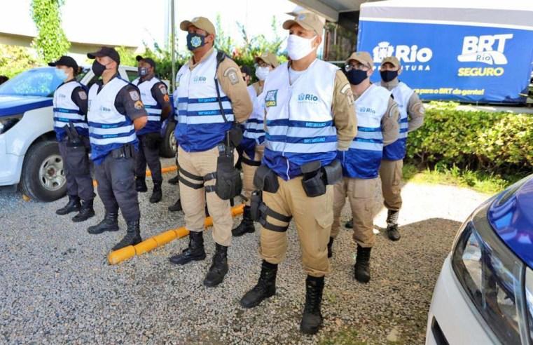 Rio: Prefeitura lança programa BRT Seguro para oferecer patrulhamento em 28 estações