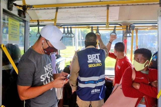 Rio: Programa BRT Seguro registra 12 prisões nas primeiras duas semanas de operação - revistadoonibus