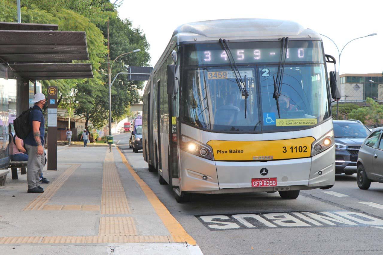 São Paulo: Obras de melhorias em faixas de ônibus da zona leste chama a atenção