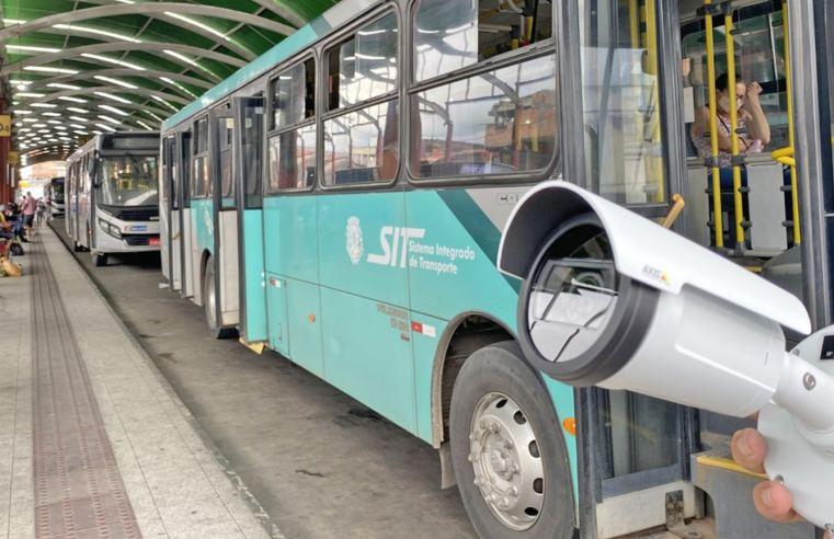 BA: Feira de Santana passa usar câmeras para monitorar o transporte urbano