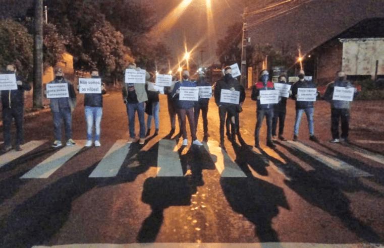 Caxias do Sul: Termina manifestação que impedia a circulação dos ônibus da Visate