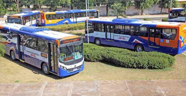 MT: Várzea Grande recebe 10 novos ônibus já adaptados para atender o sistema BRT - revistadoonibus