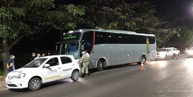 MS: Corumbá apreende ônibus com bolivianos que seguiam para São Paulo