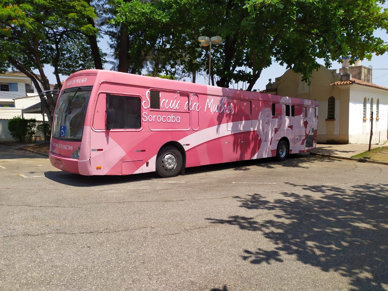 SP: Ônibus Rosa e Azul atendem na Policlínica no mês de junho em Sorocaba