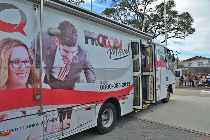 João Pessoa: Micro-ônibus do Procon atende nesta terça e quinta-feira no Alto do Mateus