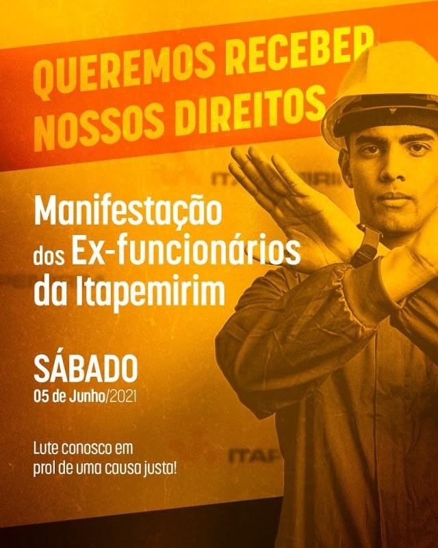 ES: Ex-funcionários da Viação Itapemirim fazem manifestação em Cachoeiro por direitos trabalhistas - revistadoonibus