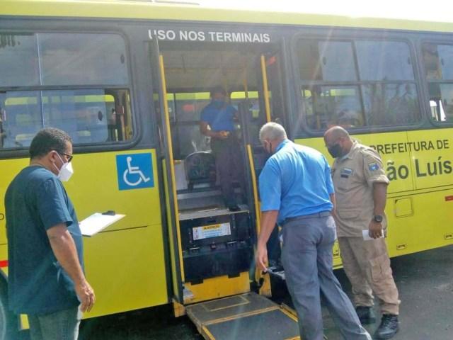São Luís intensifica fiscalização de equipamentos de acessibilidade dos ônibus - revistadoonibus