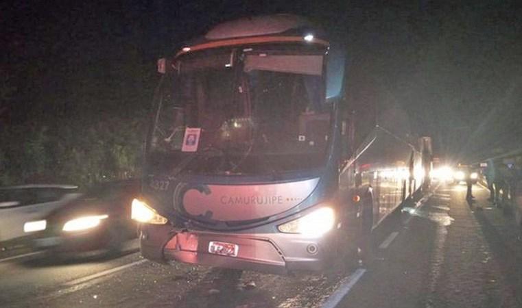 Salvador: Acidente entre três ônibus e um caminhão deixa trânsito lento na BA-526
