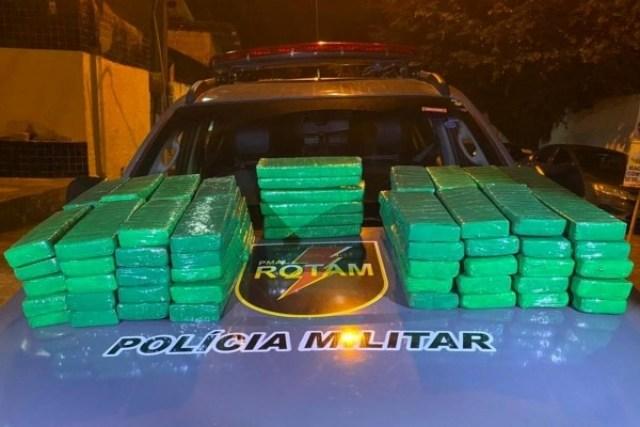 Maceió: PM prende mulher com 62kg de entorpecentes na Rodoviária - revistadoonibus