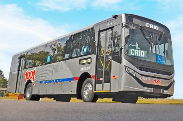 Caio afirma que fará a entrega de 30 novos ônibus Apache VIP V para o Rio de Janeiro - revistadoonibus