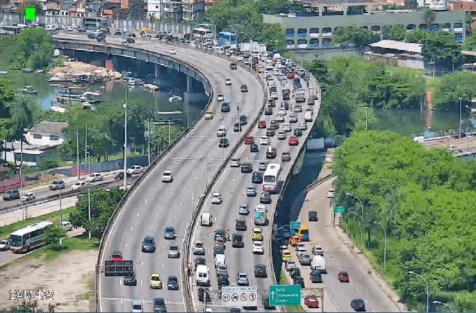 Rio: Linha Vermelha terá interdições nesta quarta-feira para manutenção de radares