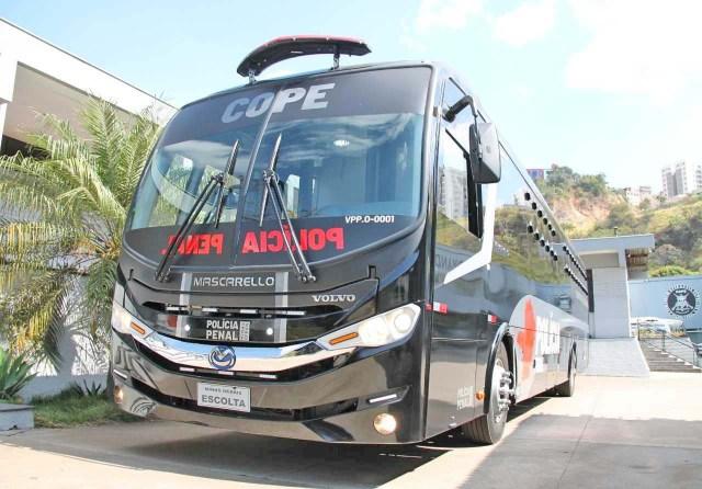 MG: Comando de Operações Especiais do Sistema Prisional recebe novo ônibus - revistadoonibus
