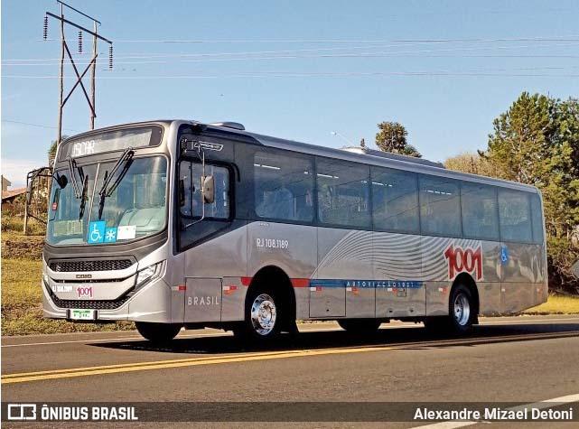 Auto Viação 1001 renova frota urbana com Caio Apache Vip V Mercedes-Benz OF-1721