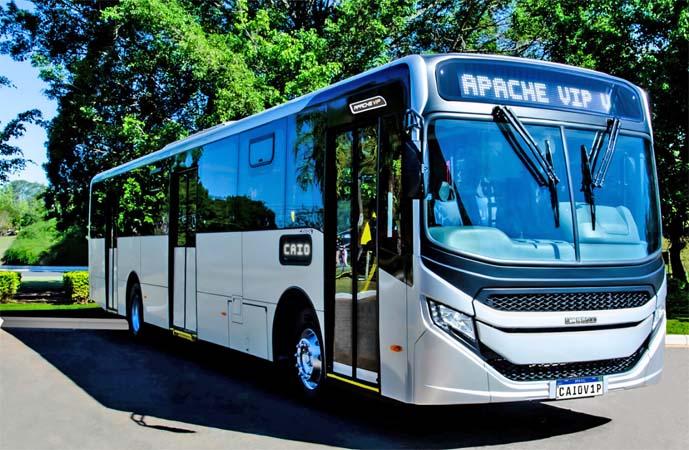 Caio afirma que fará a entrega de 30 novos ônibus Apache VIP V para o Rio de Janeiro