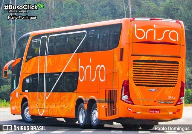 Brisa incorpora ônibus DD ex-Util Educação e o disponibiliza na Rio x Juiz de Fora x Rio