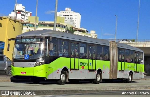 Belo Horizonte: Acidente entre ônibus do Move e carro de app chama a atenção no centro - revistadoonibus