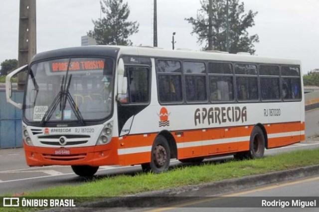 RJ: Ônibus fretado pela CSN pega fogo na BR-393 em Barra do Piraí - revistadoonibus