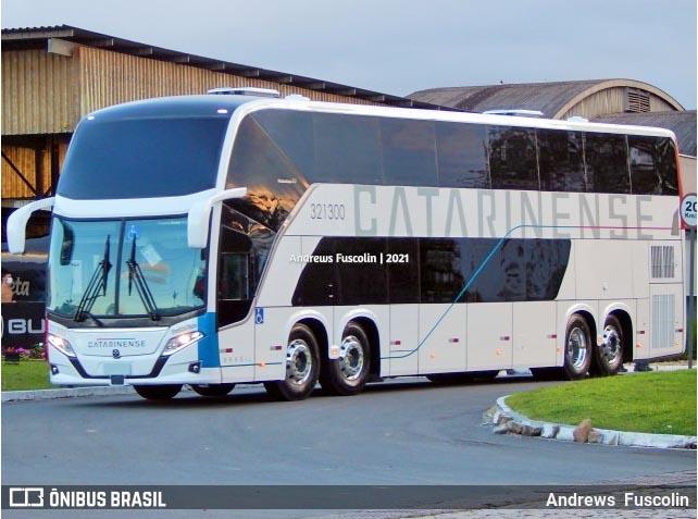 Auto Viação Catarinense deve estrear seus novos ônibus Busscar DD até outubro