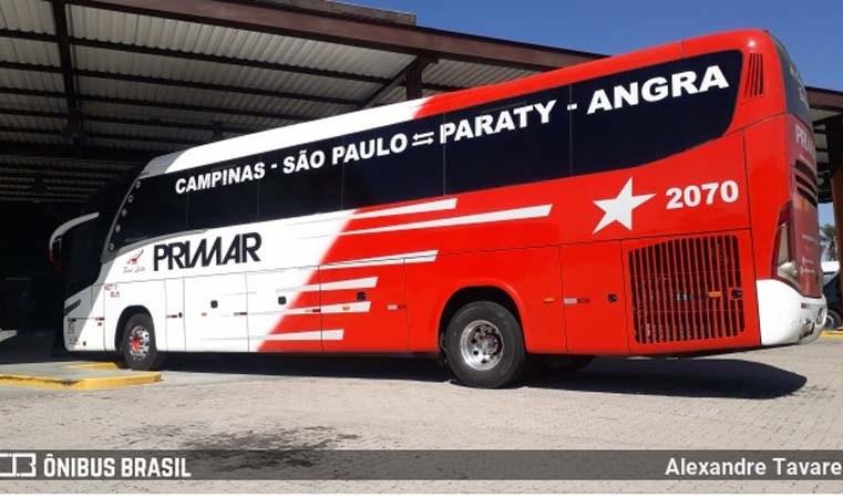 Primar possui a tarifa mais barata na São Paulo x Angra dos Reis Via Paraty e Reunidas oferece Leito e Leito Cama no trecho