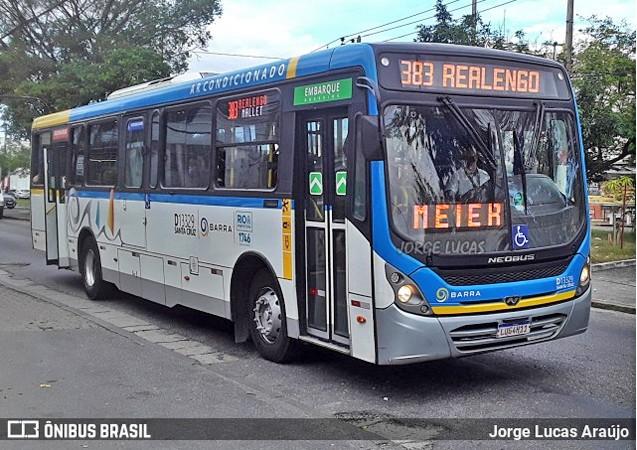 Vídeo: Ônibus da Transportes Barra seguem com problemas no elevador e passageiros fazem protesto na zona oeste do Rio