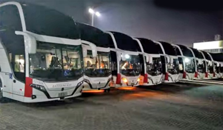 Catarinense deve disponibilizar novos ônibus Busscar DD 8×2 Scania nas próximas semanas