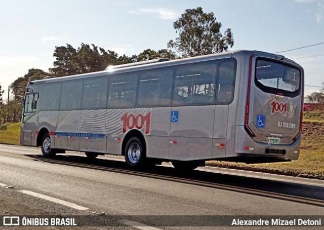 Auto Viação 1001 renova frota urbana com Caio Apache Vip V Mercedes-Benz OF-1721 - revistadoonibus