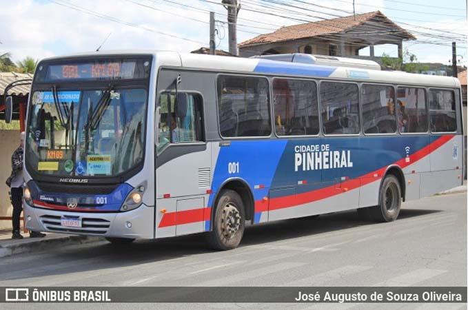 RJ: Pinheiral reajusta o valor da tarifa de ônibus municipal para R$ 4,40