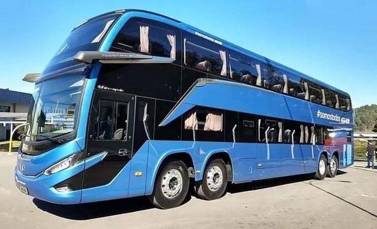 Viação Aguia Branca deve receber 8 novos ônibus Marcopolo G8 DD 8×2