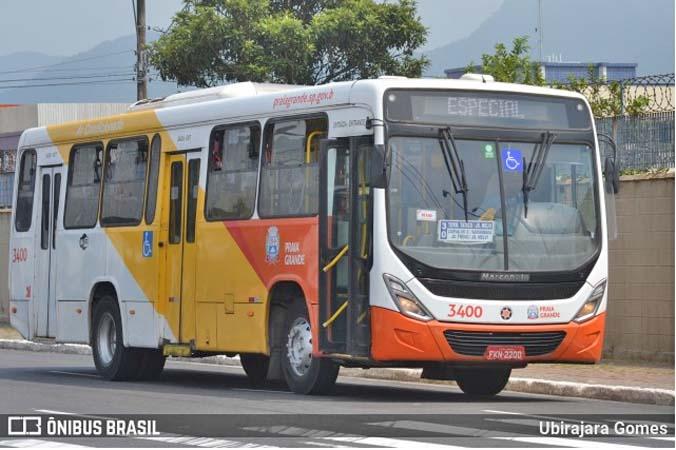 SP: Viação Piracicabana Praia Grande renova com cinco novos ônibus