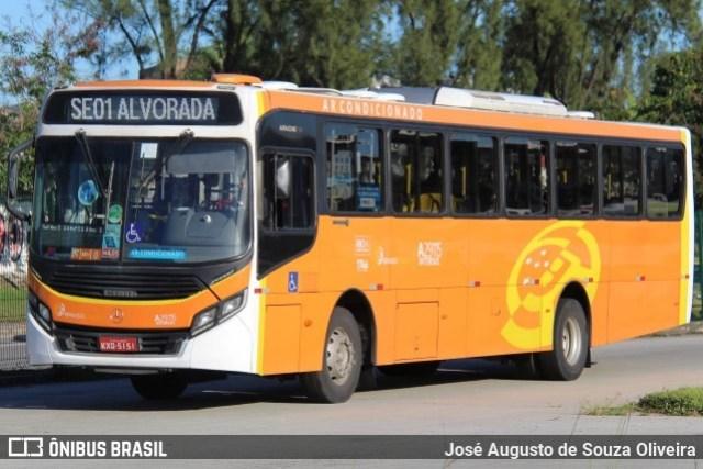Rio: Diretão Magarça x Alvorada do BRT será descontinuado a partir de segunda-feira - revistadoonibus