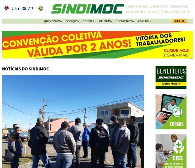 PR: Justiça determina que Sindimoc de seu site a nota que acusa desvio de vacinas em Campo Magro - revistadoonibus