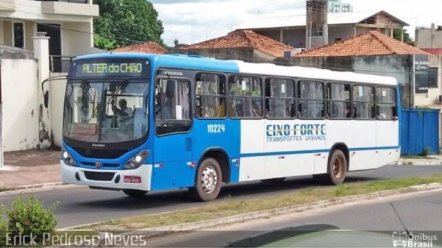 Vídeo: Ônibus colide com caminhão após motorista ter mal súbito em Santarém - revistadoonibus