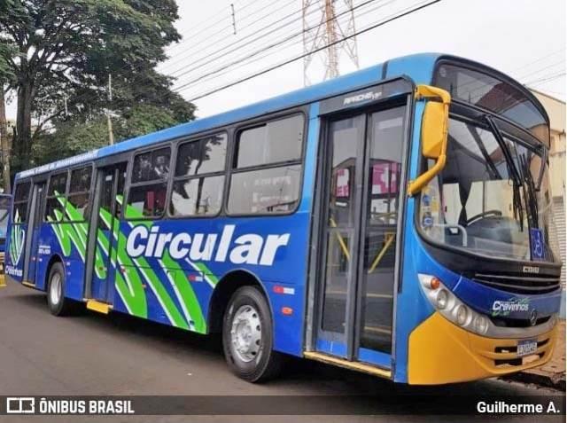 SP: Cravinhos amplia frota de ônibus circular com tarifa de R$ 1,75 - revistadoonibus