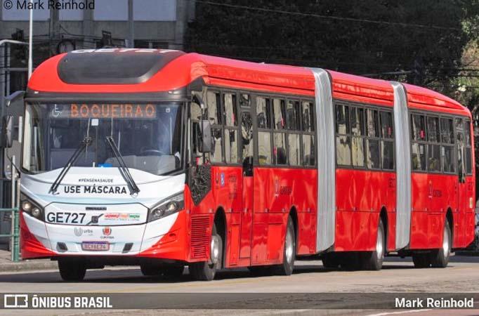 Curitiba: Urbs reforça operação de ônibus para vestibular da UFPR