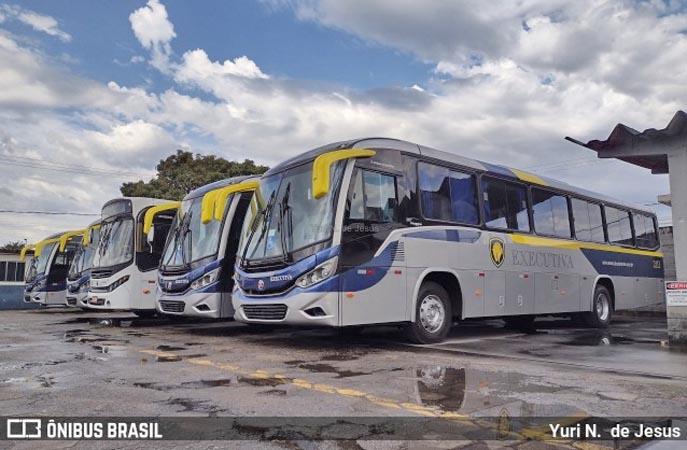 SP: Executiva Transportes e Turismo renova com cinco Viaggio 800 Mercedes-Benz