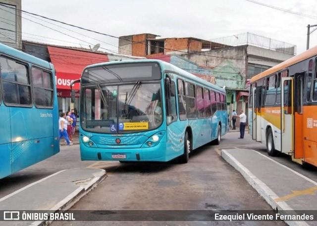 SP: Rodoviários do Vale do Paraíba protestam atrasando viagens de ônibus nesta manhã