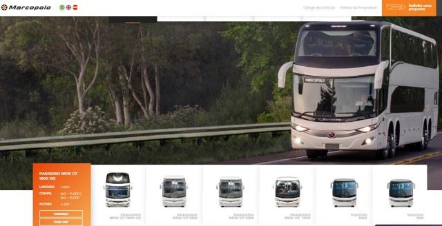 Ao Vivo: Marcopolo faz o lançamento dos ônibus G8. Acompanhe - revistadoonibus