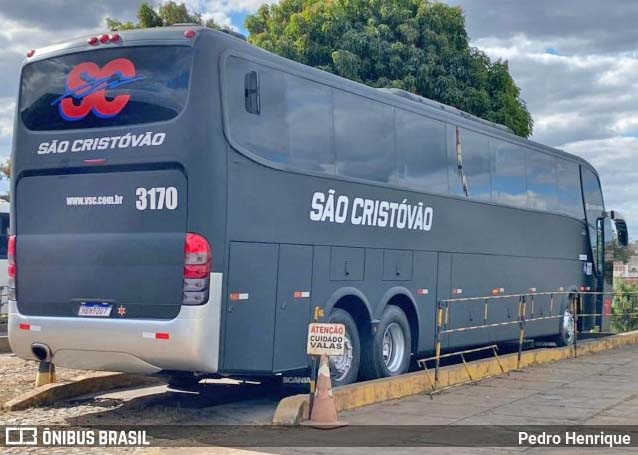 MG: Viação São Cristóvão muda identidade visual de mais um ônibus