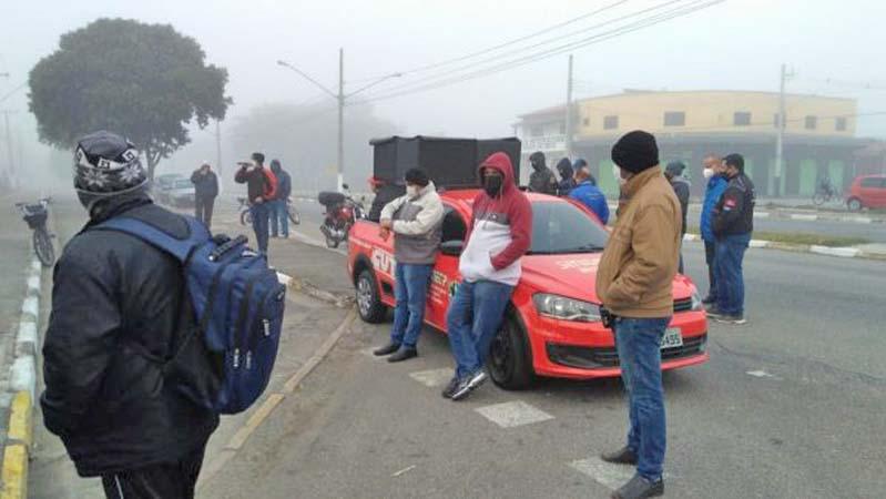 SP: Rodoviários de Pindamonhangaba realizam paralisação nesta manhã - revistadoonibus