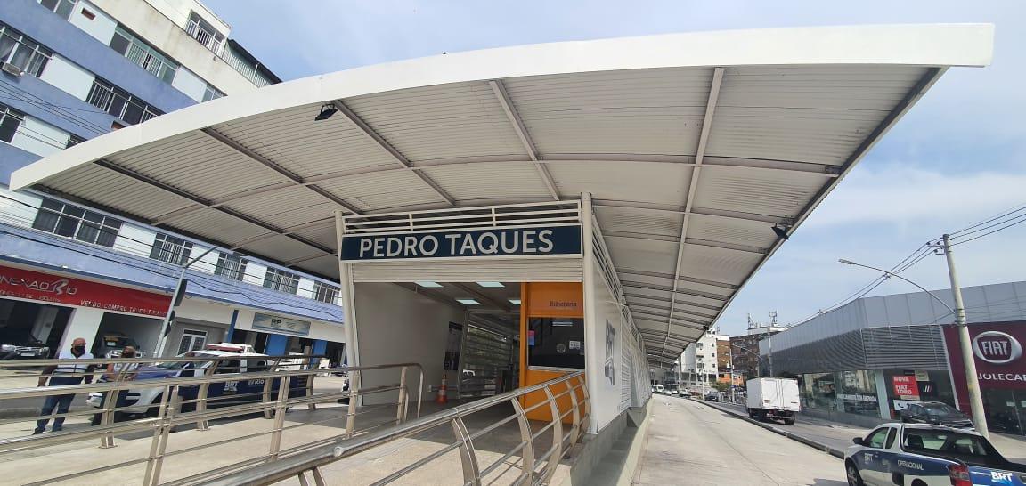 BRT Rio reabre duas estações no corredor Transcarioca