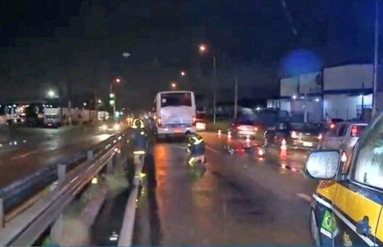 PB: Morre mulher que foi atropelada por ônibus na BR-230 em Bayeux