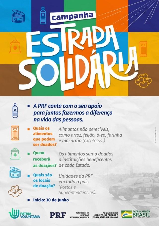 PRF lança campanha para arrecadar alimentos - revistadoonibus